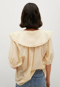 Mango - Button-down blouse - geel - 2