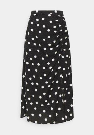 FJOLAGZ SKIRT - Pouzdrová sukně - black /grey