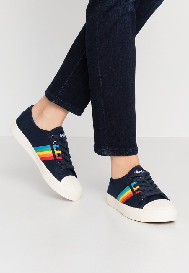 COASTER RAINBOW - Sneakersy niskie - navy/multicolor
