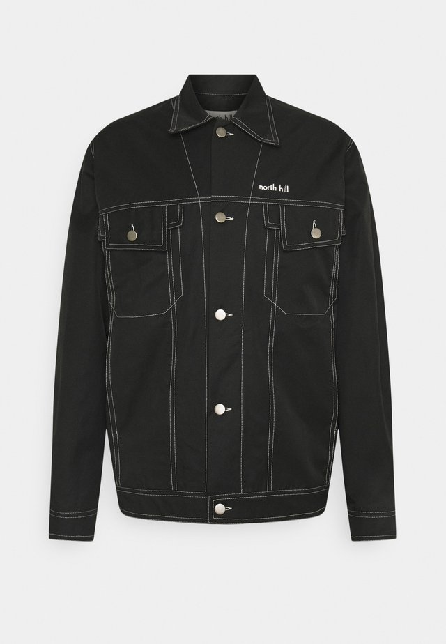 TRUCKER JACKET WATERPROOF - Regenjas - black