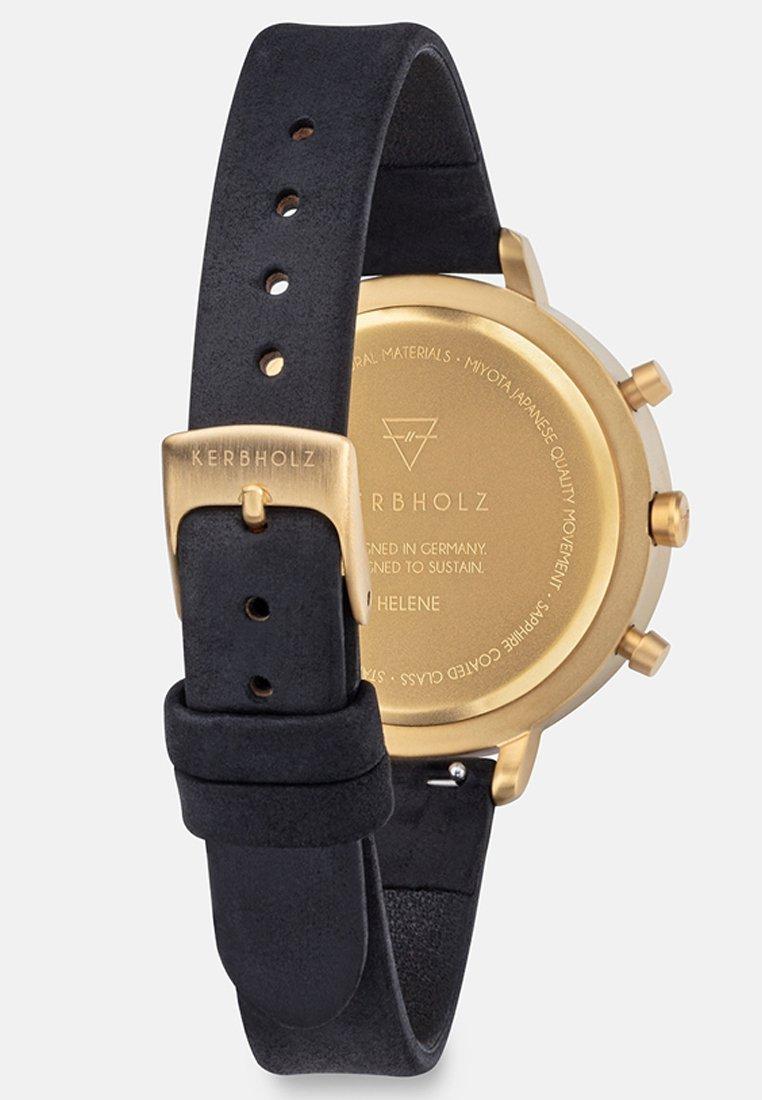 Kerbholz Helene - Chronograph Watch Black