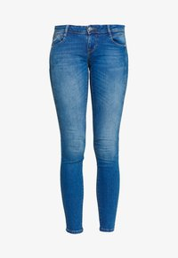 ONLY - ONLCORAL CUT - Jeans Skinny Fit - medium blue denim - 4