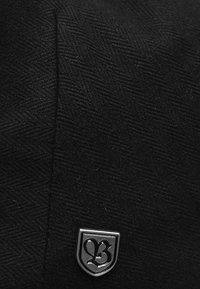 Brixton - Bonnet - black herringbone twill - 5