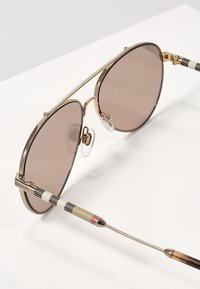 Burberry - Lunettes de soleil - gold/brown mirror rose gold - 2