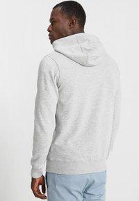 Solid - MORGAN ZIP - veste en sweat zippée - light grey - 2