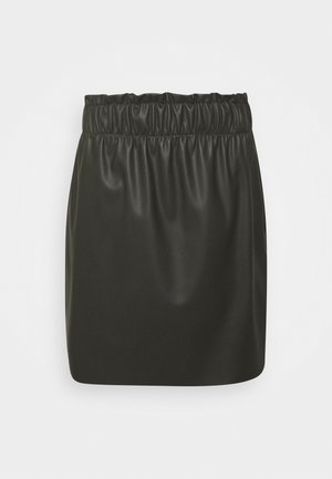 VMGWENRILEY PAPERBAG SKIRT - Minijupe - peat