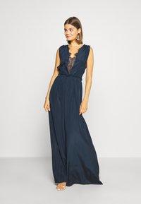 YAS - ELENA BRIDESMAIDS MAXI DRESS - Robe de cocktail - dark sapphire - 0