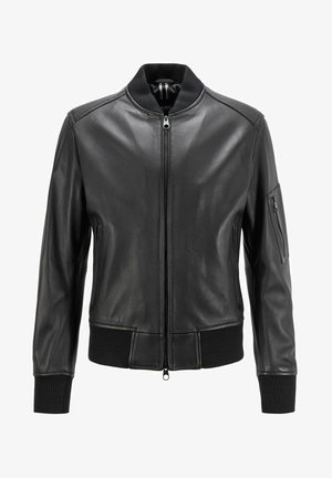 NAITRO - Leather jacket - black
