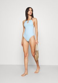 Weekday - CATCH SWIMSUIT - Swimsuit - light blue - 1