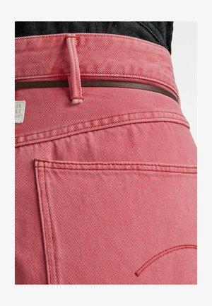 LINTELL - Denim shorts - recycrom petunia pink gd