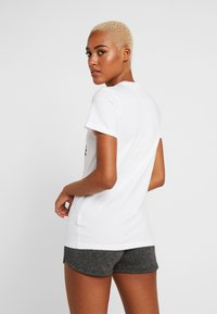 adidas Performance - BOS TEE - T-shirt print - white - 2
