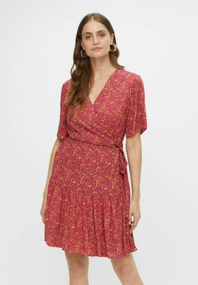 YASRISLO - Korte jurk - fandango pink