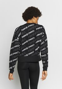 Nike Performance - CREW  - Sweatshirt - black/metallic silver - 2