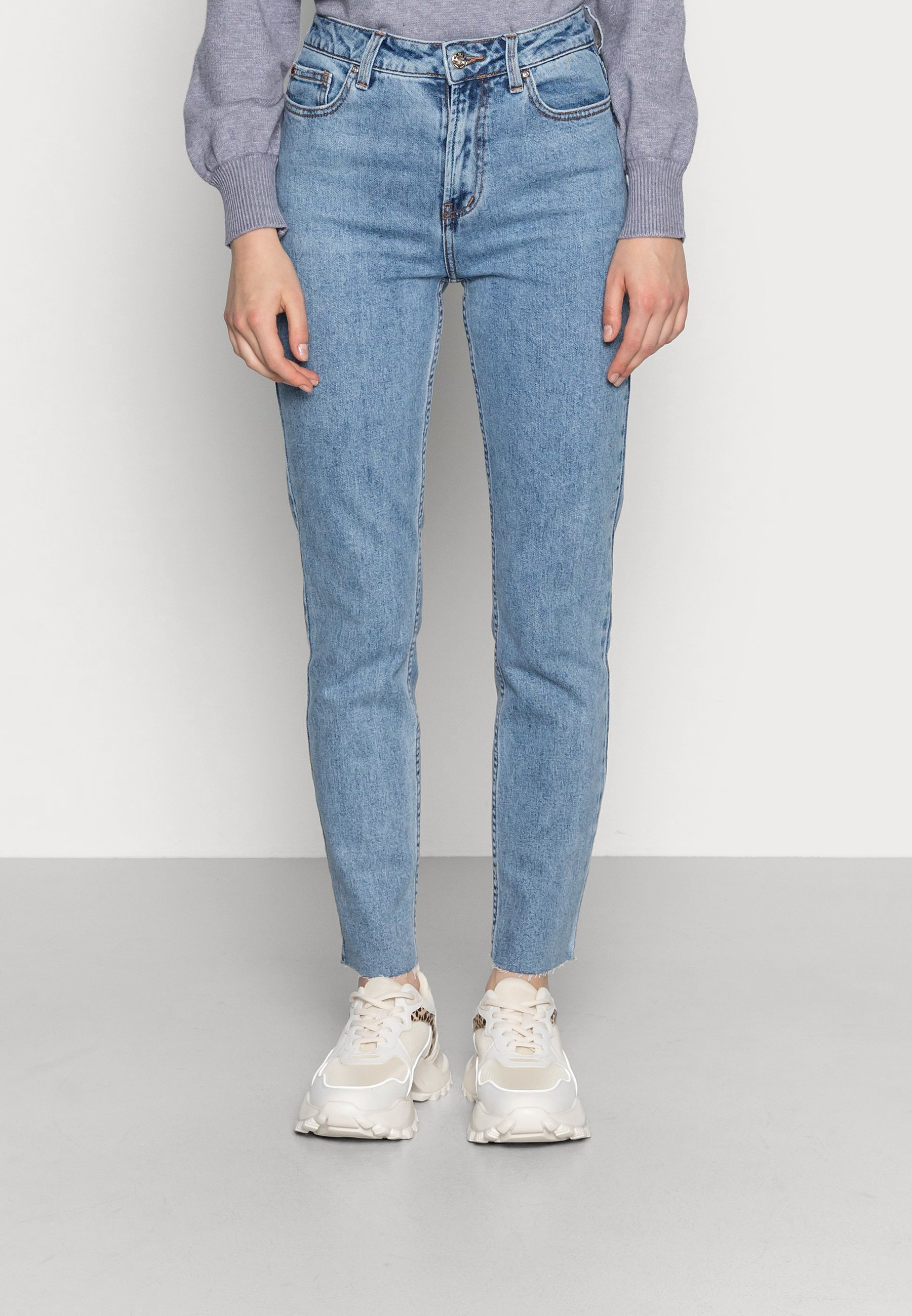 Donna ONLEMILY RAW MAE - Jeans a sigaretta