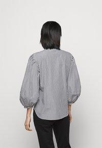 Lauren Ralph Lauren - 70S NON STRETCH - Button-down blouse - black/white - 2