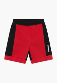 Nike Sportswear - AIR FRENCH BABY SET  - Trousers - black/university red - 2