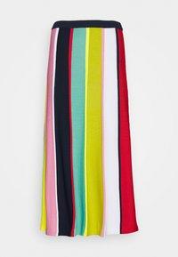 J.CREW - RAINBOW STRIPE SKIRT - A-line skirt - navy/bohemian rose/multi - 3