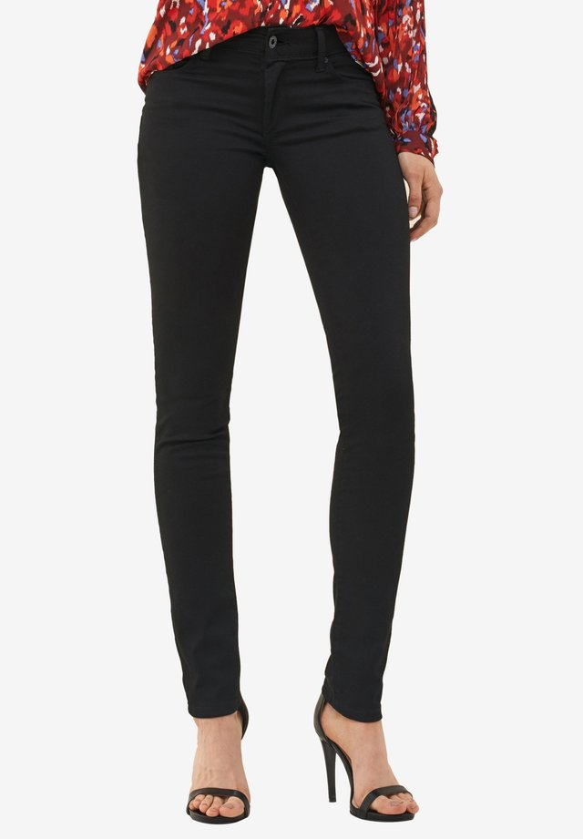 PUSH UP - Jeans Skinny Fit - black