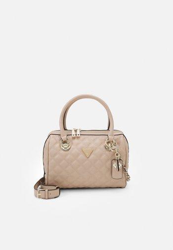 CESSILY BOX SATCHEL - Handbag - rosewood