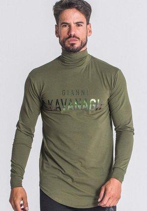 Pitkähihainen paita - army green