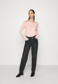 ONLY - ONLNICOLE LIFE NEW MIX  - Long sleeved top - misty rose - 1