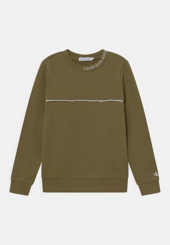 LOGO PIPING  - Sweatshirts - green
