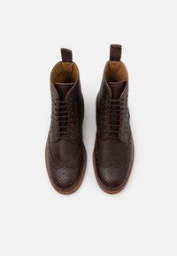 Grenson - FRED - Lace-up ankle boots - dark brown - 3