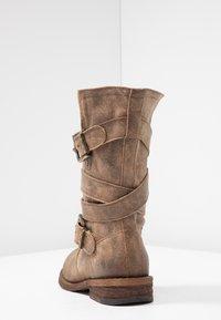 Felmini - GREDO - Cowboy/Biker boots - noumerat camel - 5