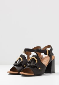 See by Chloé - Ankle strap ballet pumps - nero - 4