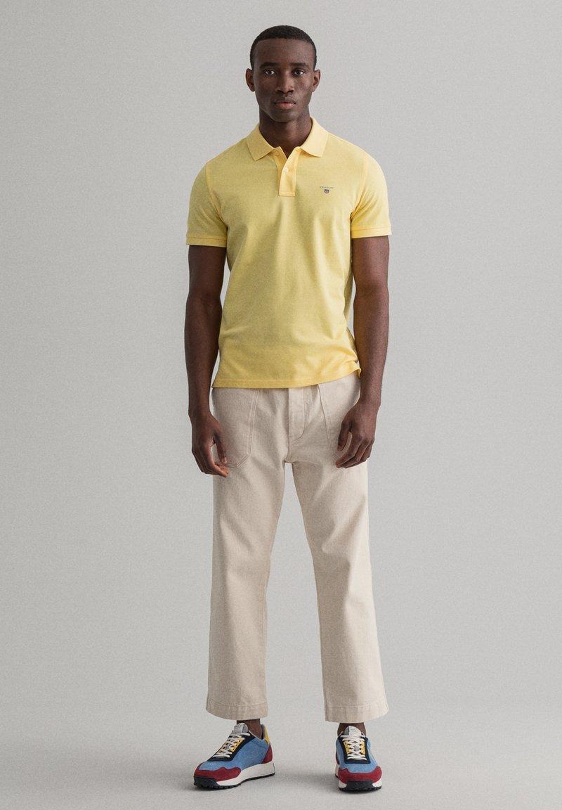 GANT - Polo - brimestone yellow