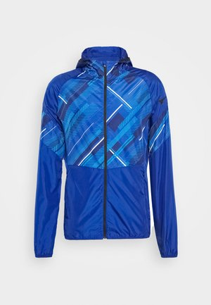 PRINTED JACKET - Training jacket - mazarine blue