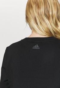 adidas Performance - CREW - Sweatshirt - black - 5