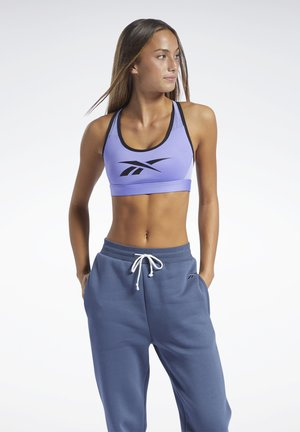 REEBOK LUX RACER MEDIUM-IMPACT SPORTS BRA - Medium support sports bra - lilac