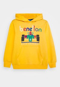 Benetton - BASIC BOY - Hoodie - yellow - 0