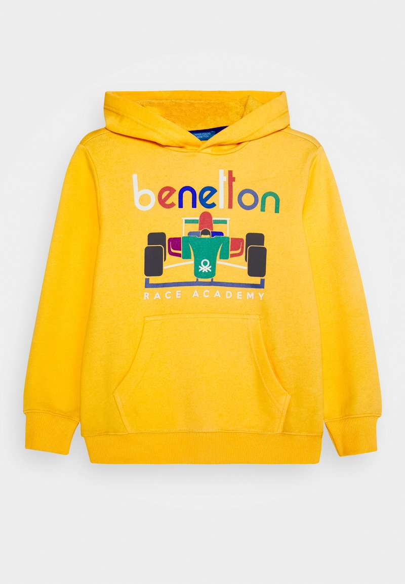 Benetton - BASIC BOY - Hoodie - yellow