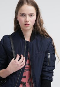 Bombers - ORIGINAL - Bomber Jacket - navy - 3