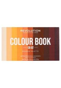 Make up Revolution - COLOUR BOOK EYESHADOW PALETTE - Eyeshadow palette - browns - 1