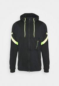 Nike Performance - DRY STRIKE SUIT - Tracksuit - black/volt - 1