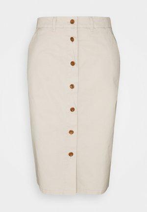 SUNFADED SKIRT - Pencil skirt - putty