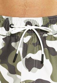 G-Star - DIRIK SIDE PANEL - Plavky - cool grey birch - 4