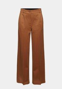 Esprit Collection - SOFT PUNTO - Trousers - caramel - 10