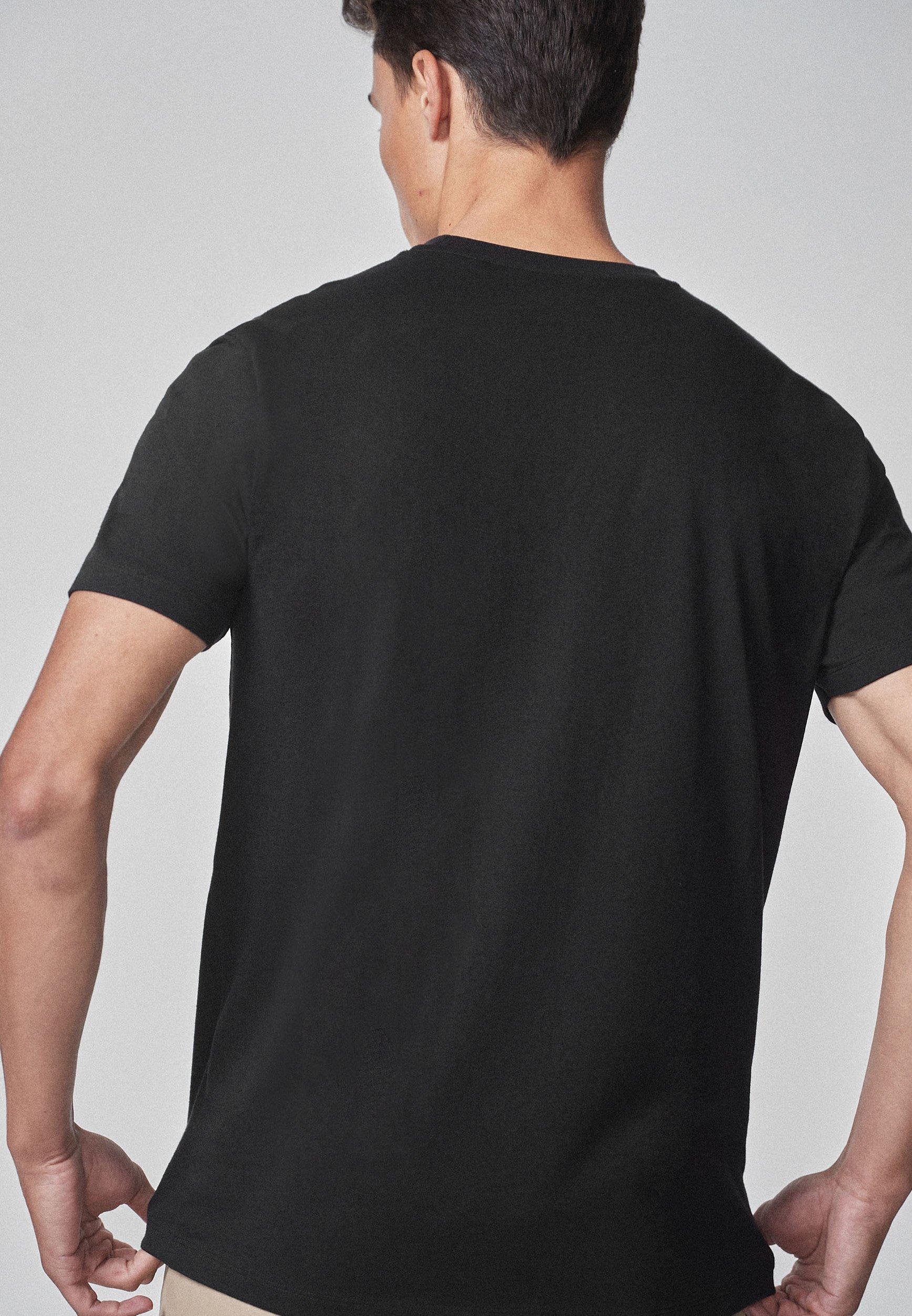 Next T-shirt Print - Black
