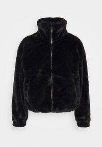 New Look - THEO FUNNEL NECK  - Light jacket - black - 3