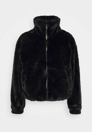 THEO FUNNEL NECK  - Light jacket - black