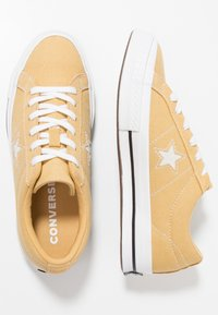 Converse - ONE STAR - Trainers - club gold/white/black - 1