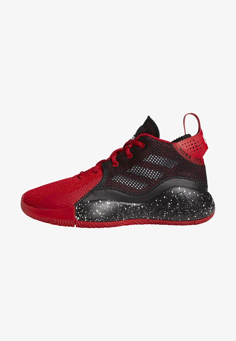 adidas Performance - ROSE BOUNCE SPORTS BASKETBALL SNEAKERS SHOES - Basketball shoes - red