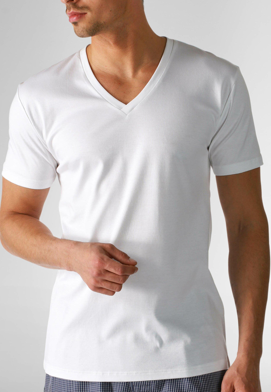 Herren V-NECK SERIE DRY COTTON - Nachtwäsche Shirt