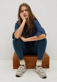 Mango - ISA - Jeans Skinny Fit - diep donkerblauw - 3