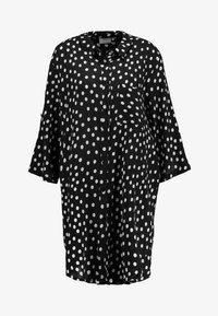 Kaffe - Shirt dress - black deep - 3