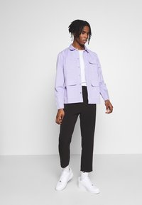 Another Influence - WORKER JACKET - Denim jacket - light lilac - 1
